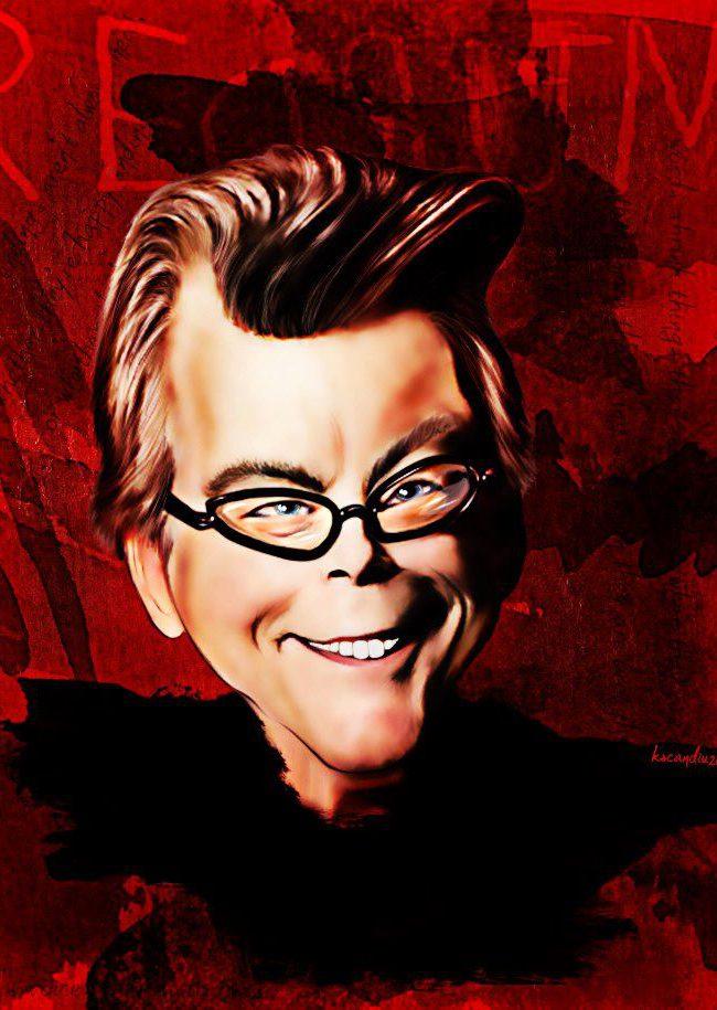 «Stephen King», por Karol Scandiu