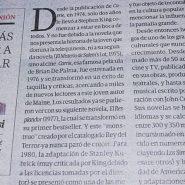 Columna en Tiempo Argentino