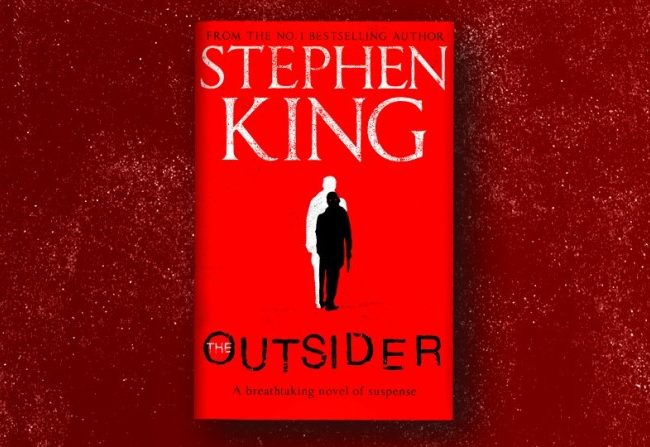 The Outsider: la portada inglesa