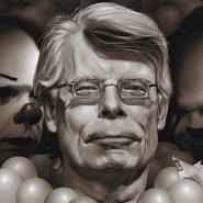 «Stephen King y Pennywise», por Marco Gomez Gomez