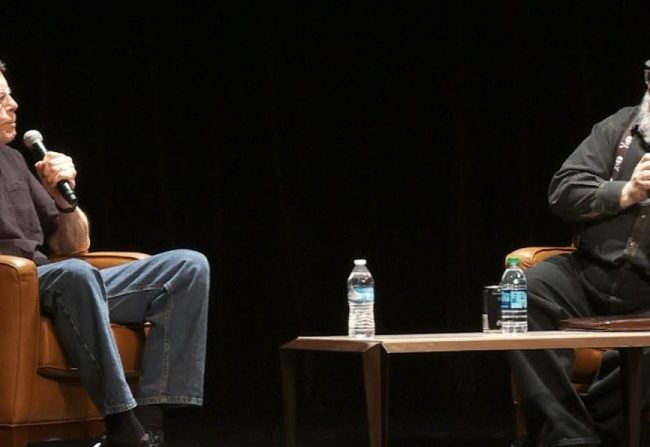 Charla entre Stephen King y George R.R. Martin