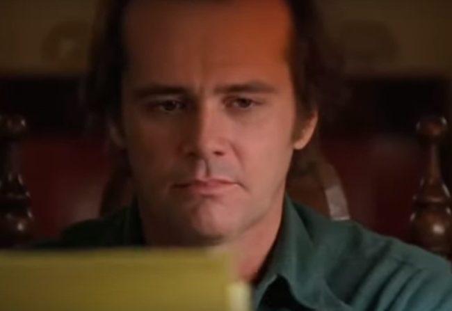 Jim Carrey como Jack Torrance