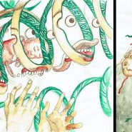 In the Tall Grass: Guión, arte conceptual y storyboards