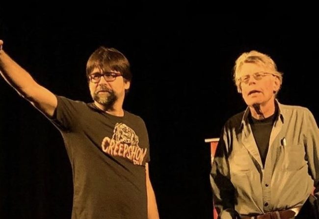 Stephen King y Joe Hill en el Teatro Somerville
