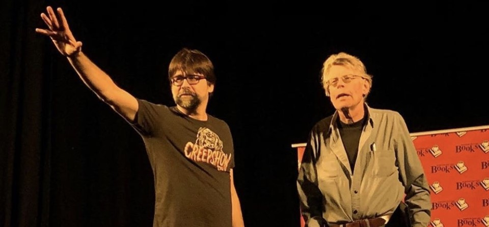 Una noche con Joe Hill y Stephen King