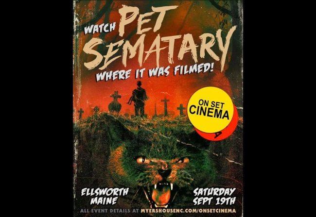 Pet Sematary en el cementerio original