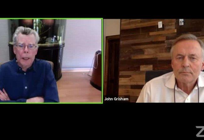 Stephen King & John Grisham: video subtitulado