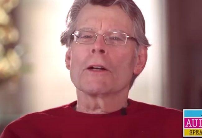 Stephen King explica por qué ama los audiolibros