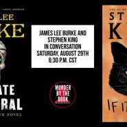 Stephen King y James Lee Burke conversarán en You Tube