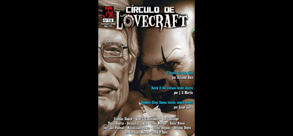 Revista Círculo de Lovecraft N° 16
