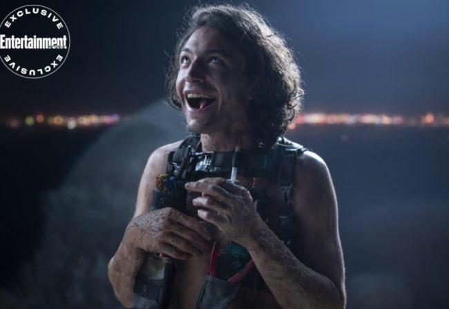Ezra Miller es Trashcan Man en The Stand