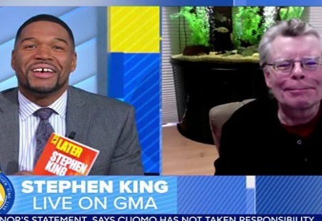 Stephen King en Good Morning America