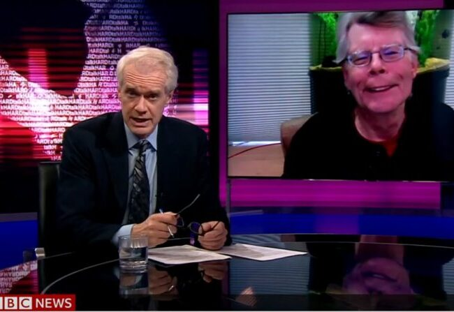 Stephen King: Entrevista en HARDtalk