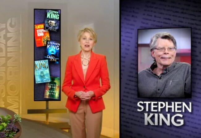 Entrevista a King en CBS Sunday Morning